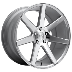 5x114 3 4 Wheels 20 Inch Rims Niche 1pc M179 Verona 20x10 40mm Gloss Silver