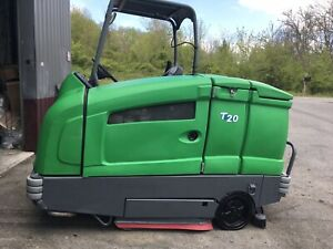 Tennant T20 Scrubber L p Only 516 Hrs Totally Serviced