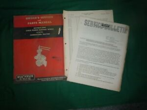 Bucyrus Erie Hydraulic Cable Power Control Winch Service Manual 4 Ih Tractor
