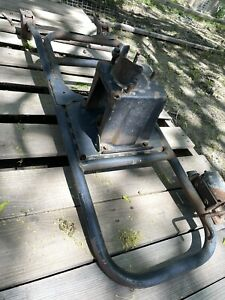 Early Ford Bronco Original Spare Tire Carrier Rack Holder Unsure Of Model Number