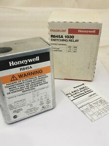 Honeywell R845a 1030 120 Volt Switching Relay New Fast Shipping