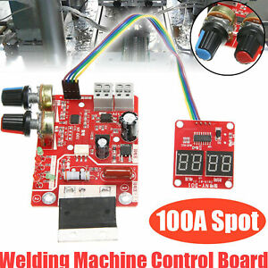 Hot Spot Welder Time Control Board 100a Updating Current With Display Digital Us