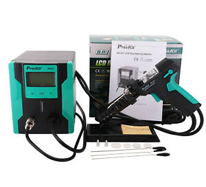 220v Electric Tin Suction Gun Full Automatic Lcd Desoldering Station Ss 331