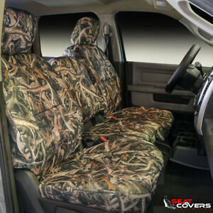 Custom Fit Camo Front Seat Covers For The 1995 2000 Chevy Ck Full Size Pickups