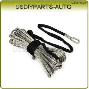 1pcs Winch Tow Rope Synthetic Line Recovery Cable 23000lb Off Road 2 5 X 100ft