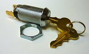 On off Switch Lock Keyed Alike Key Removable In Off Position 250 Terminal With