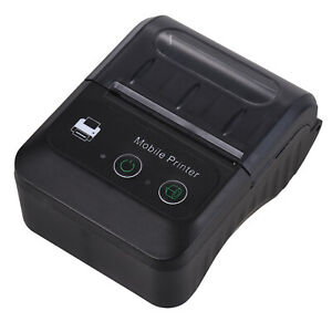58mm Portable Bluetooth Wireless Pocket Mobile Pos Thermal Receipt Printer F5d2