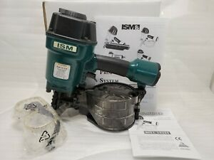 Brand New Ism Pneumatic Pro Power Coil Nailer 1 3 4 To 2 3 4