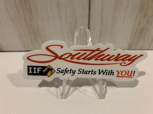 Southway Crane Rigging Equipment Hardhat Operating Engineers Sticker Safety