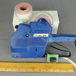 Avery Dennison 216 2 Two Line Price Gun Hand Retail Pricing Xtra Ink Labels