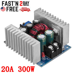Dc dc Buck Converter 20a 300w Dc Step Down Power Adjustable Charger Board Tool