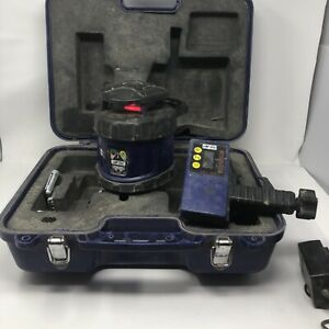 Line Site Lsl 105 Laser Level Construction Self Rotating With Receiver