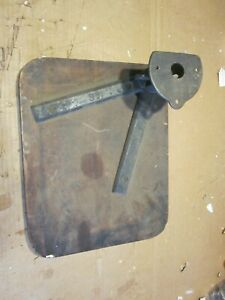 Used Rare Chandler Price Press 10x15 Feed Board Mounting Fork Base Complete