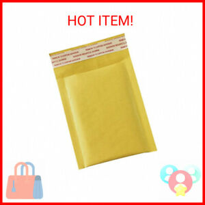 50 Pack 3 5x5 Inches Small Padded Envelopes Kraft Bubble Mailers Self Seal S