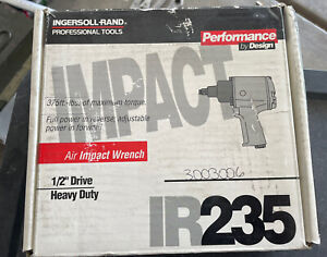 Ingersoll Rand Ir235 1 2 Drive Heavy Duty Air Impact Wrench