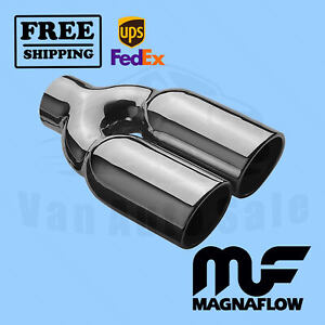 Exhaust Tail Pipe Tips Magnaflow Dual Mag35168 High Quality Best Power