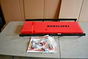 Craftsman 36 Rolling Creeper Metal Frame Padded Automotive Tool 6 Caster Wheels