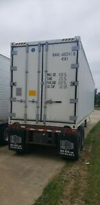 Working 40 Cold Reefer Container For Sale Portable Cold Storage Unit