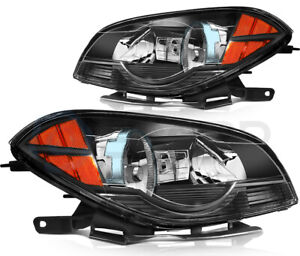 Fits 2008 2012 Chevy Malibu Led Headlight Assembly Set Front Left Right Sides