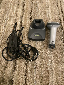 Handheld Products Sr It 4600 Wireless Barcode Scanner And Charger Dock