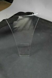 15 Clear Acrylic Necklace Countertop Display 7 Tall X 6 Wide