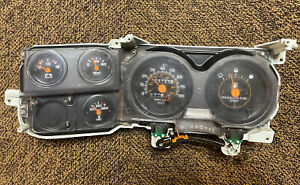 90 91 Gold Line Electric Chevrolet Gmc Truck Suburban K5 Blazer Cluster