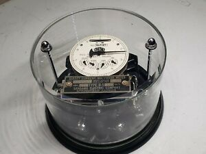 Sangamo Watthour Meter Absolutely Stunning Museum Quality Showpiece