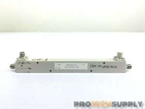 Fairview Microwave Directional Coupler Mc2024 10 500 2000 Mhz