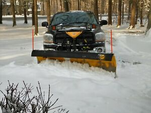 2006 Dodge 2500 Truck With 8 Ft Fisher Plow