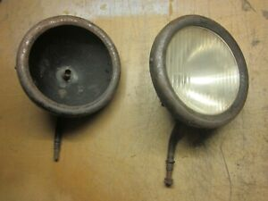 Vintage Head Lights Circa Teens 20 S Model T Ford