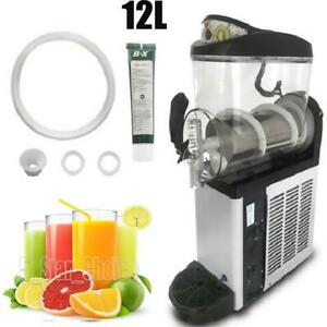 12l Margarita Girl Single Bowl Margarita Slush Frozen Drink Machine Commercial