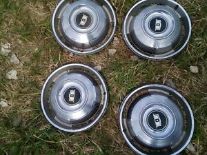 1967 Chevy Caprice 14 Wheel Covers Hubcaps Set Of 4