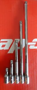 Snap On Tools 1 4 Drive 5 Pc Knurled Friction Ball Extension Set 1 1 2 8