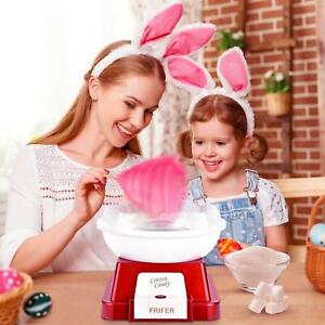 Cotton Candy Maker Commercial Electric Machine Kids Party Sugar Floss Red