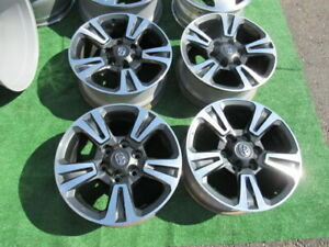 4 Toyota Tacoma Oem Factory 17 Wheels Rims Scratches And Nicks