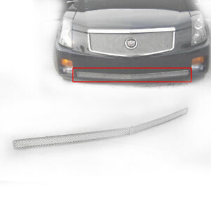 2003 2007 Cadillac Cts Chrome 1p Front Lower Bumper Mesh Grille Grill Insert New