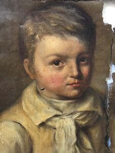 Masterpiece Antique Early 18th C American Old Master Colonial Oil Painting