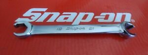 Snap On Tools 19mm X 21mm Double Flare Nut Wrench Rxfms1921b Ships Free