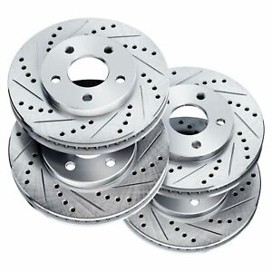 Fit 1972 1974 Mercedes Benz 350sl 450slc Powersport Full Kit Brake Rotors