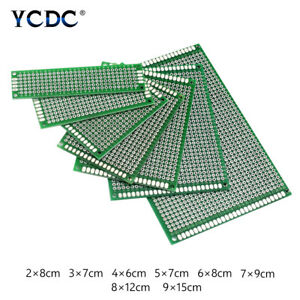 Double sided Pcb Circuit Board Prototype Breadboard For Arduino Diy Project 7d2