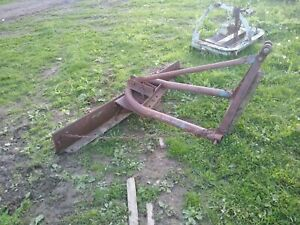 Scrape Blade 6 Ft 3 Point Hitch 20 40 Hp Tractor Ford