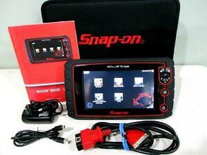 Snap On Solus Edge Touch Diagnostic Full Function Scanner Great Condition