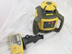 Topcon Rl h5a Self leveling Rotary Grade Laser Level
