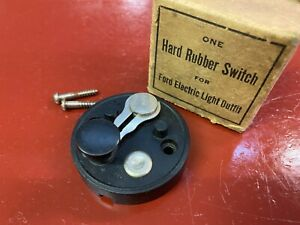 Vintage Ford Model T Headlight Switch In Box