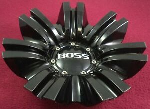 Boss Motorsports Wheels Gloss Black Custom Wheel Center Cap 3249