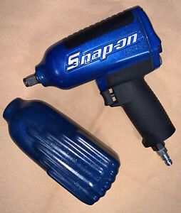 Snap on Mg725 1 2 Drive Heavy duty Air Impact Very Limited Edition Blue Flake