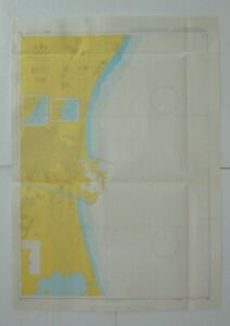 Admiralty 518 Approaches To Valencia Spain Nautical Chart Marine Geographic Map