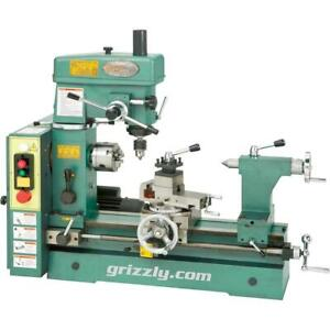 Grizzly G4015z 19 3 16 3 4 Hp Combo Lathe mill
