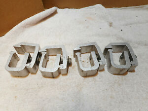4x Truck Cap Topper Camper Clamps Mounting Aluminum Heavy Duty Reg Or Hinged