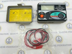 Kyoritsu 4105a Earth Ground Resistance Multimeter Tester